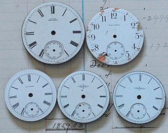 5 Vintage Watch Faces