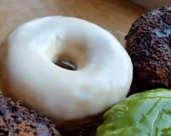 Iced Lemon Donut Soap - Donut Soap - Doughnut -Cake - Fake Food - Soap - Food Prop - Dessert Soap - Lemon - Bakery - Novelty Soap