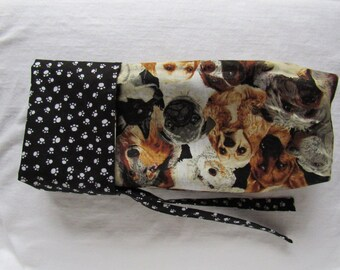 Wine bittle gift bag- Dogs and Paws