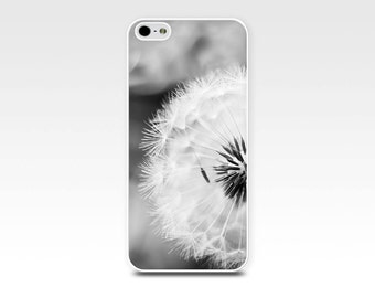 iphone 6 case dandelion iphone case 6s black and white iphone case 4s girly iphone case 5s photograph iphone case floral iphone case flower