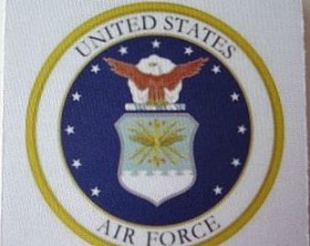Air Force Coasters - US Air Force Decor - Military Coasters - Military Gift - Home Decor - Home Decor Gift - Men's Gift - Air Force Gift