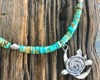 Island Sea Turtle Necklace