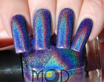 Majic Eyes Only Holographic Nail Polish 12ml NEW BOTTLE & PRICE!
