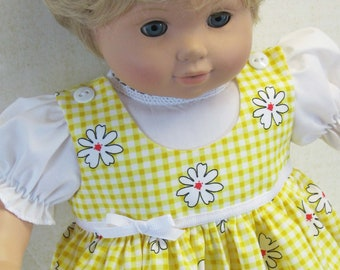 Yellow Daisy Jumper and Blouse for Bitty Baby Doll