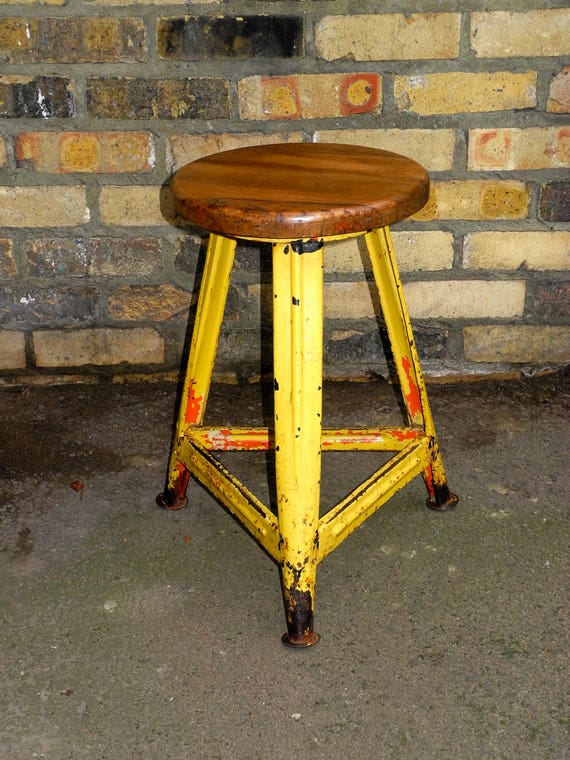 1950's East German Welders Stool