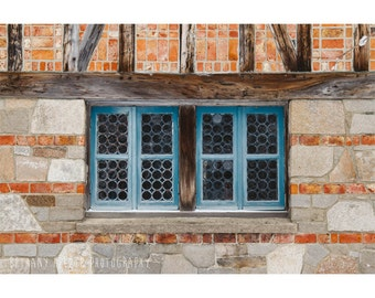 Architecture Photography, 8x12 Print, Maine Photography, Acadia National Park, Maine Architecture, Window Photography, Dreamy Photography