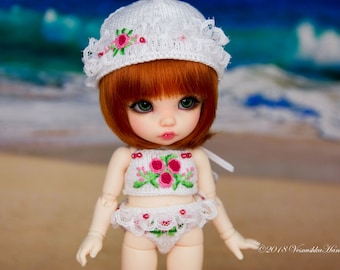 Retro Swimmsuits for Pukifee/ Lati Yellow (1/8)