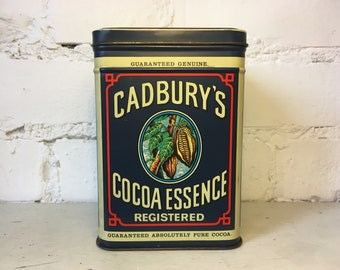 Vintage 1977 Replicans Cadbury's Cocoa Essence Tin