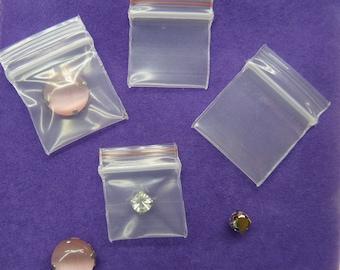 Super Mini Plastic ZipLock Bag 1.8cm x 2.5cm Mini ZipLock Bag Storage Plastic Bag Small Zip Bag Reusable Plastic Recloseable Zip Lock Bag