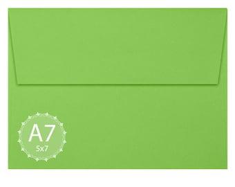 A7 Limelight Envelopes (5 1/4 x 7 1/4) - Announcement Envelope