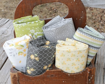 Pepper and Flax by Corey Yoder for Moda ~ 6 Fat Quarter Bundle
