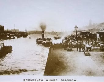 Photograph of Bromielaw Wharf Glasgow