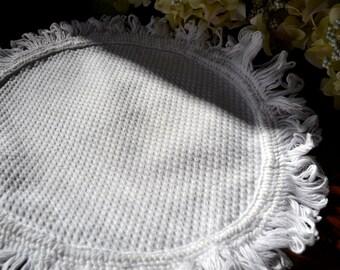 Vintage Pique Herzstück Deckchen 3345