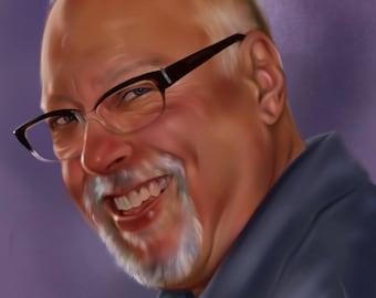 Digital Portrait to order!