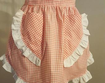 Vintage Old Fashion Half Apron