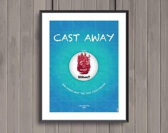 Seul au monde, minimalist movie poster