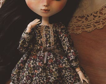 Leonie set - Dress and petticoat for Pullip & Blythe