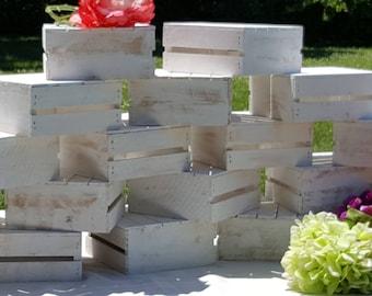 wedding crates , wood Crates , table centerpiece , white crates , flower box , wedding reception , wedding decor , white wedding