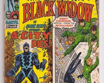 Amazing Adventures 5 VF+ Inhumans Black Widow John Buscema Cover Bronze Age Marvel Comic Book March 1971