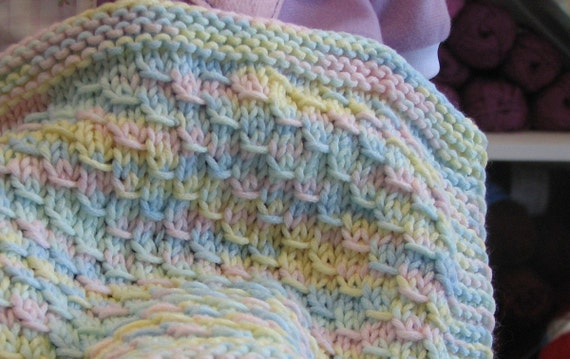 dragon baby blanket easy level knitting pattern. Black Bedroom Furniture Sets. Home Design Ideas