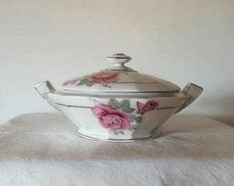 French tureen Luneville 70 years