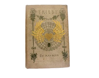 Trilby, 1894 First Edition, Antique Book, Literary Classic, Literary Book, English Literature, Collectible Book, British Literature