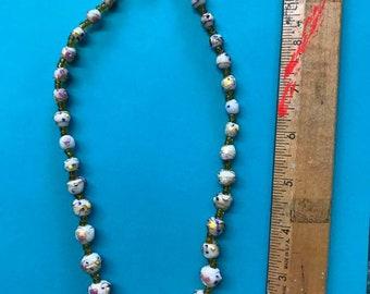 Vintage Wedding Bead Necklace
