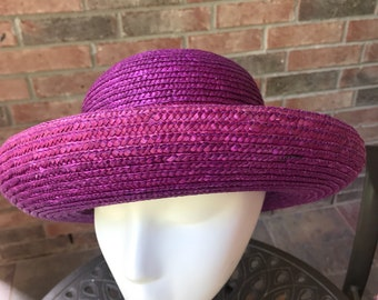 Betmar - Straw Hat - Sun Hat for Women - Vintage Straw Hat
