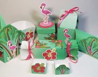 Flamingo 78 Piece Party Kit