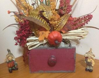Floral Arrangement/Autumn Floral Centerpiece/Artificial Flower Arrangement Decor/Autumn Flower Arrangement/Thanksgiving Day Gift