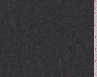 Black Denim Rainwear, Fabric By The Yard