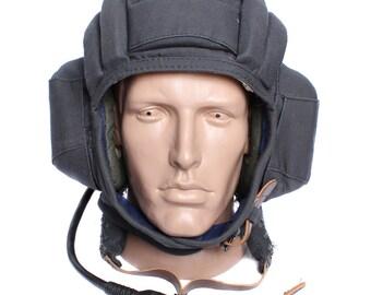 Russian military surplus tank protection helmet