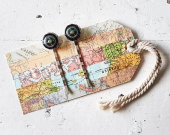 Compass Hair Slide // Bobby Pins // Hair Clips // Compass Jewellery // Travel Jewellery // Wanderlust Jewellery