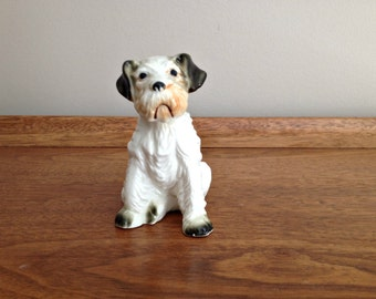 Ceramic Dog Figurine Terrier