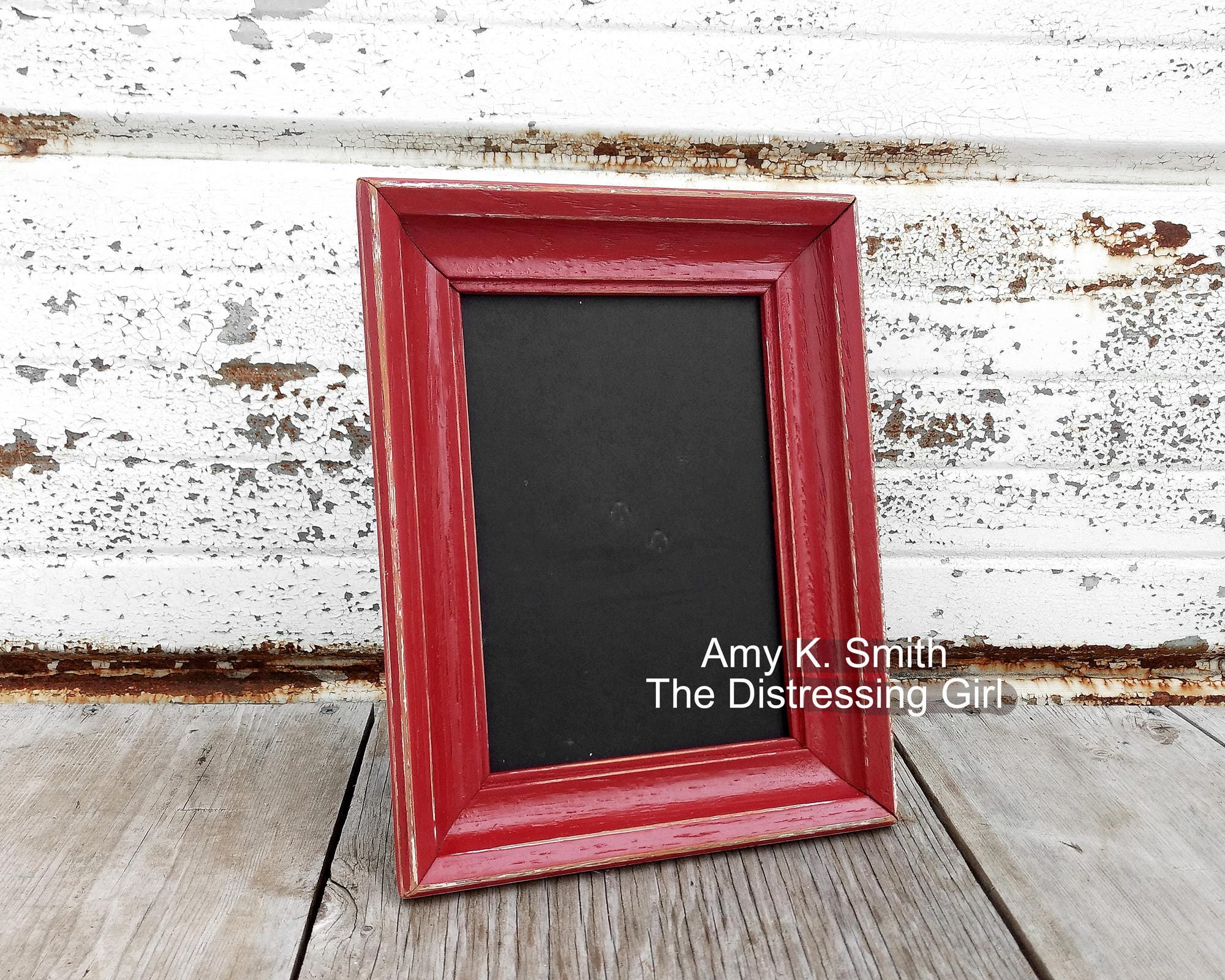 Ready to ship red 5 x 7 picture frame heritage red 5x7 zoom jeuxipadfo Image collections