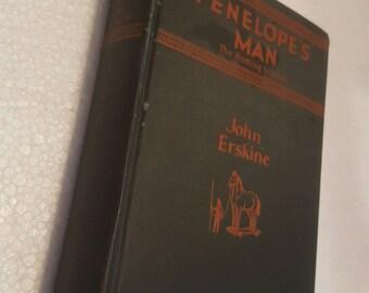 ON SALE, Ponelope's Man The Homing Instinct, Vintage book by John Erskine 1928
