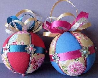 Christmas Ornament Tutorial - Pattern - Instructions - DIY - No Sew - Hansha