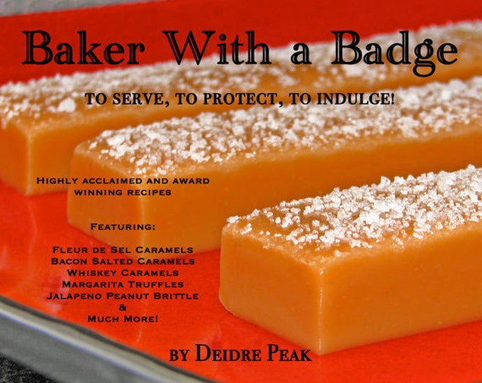 Baker with a Badge Recipe Book