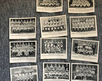 Collection of (11pcs) 1958-59 Football Cards