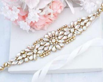 Bridal belt, gold belt, gold bridal belt, gold sash, skinny belt, Bridal belt, Wedding belt, sash belt