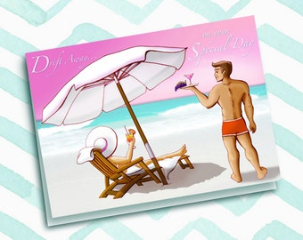 Drift Away on Your Special Day-Birthday Card