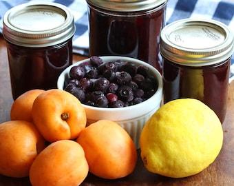 Apricot Blueberry Jam 8oz- TheSunshineJellyCo
