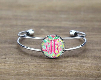 monogram bangle bracelet, monogrammed bangle bracelet, Bridesmaid bangle, custom initials bangle, monogram initials, wedding gift