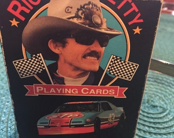 NASCAR Collectible Playing Cards Richard Petty The King of Stockcars 1992 Auto Racing Sports Memorabilia Man Cave
