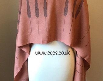 Spring evening shawl, summer wrap, mens skinny scarf, handwoven  choker, oya scarf, head scarf