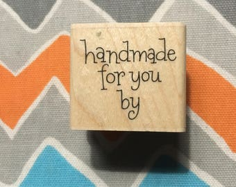 DESTASH Used Handmade For You By Stamp Block