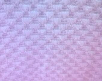 Fabric upholstery ecru honeycomb 158 x 128