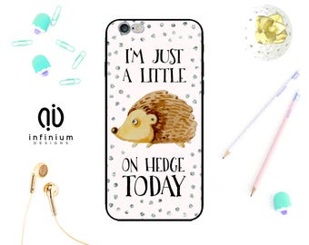 Hedgehog Case For iPhone 8, Samsung S8, S8 Plus, Samsung A3, Samsung A5, Samsung S7, S7 Edge, iPhone 7, iPhone 8 Plus, iPhone 6S & iPhone 5S