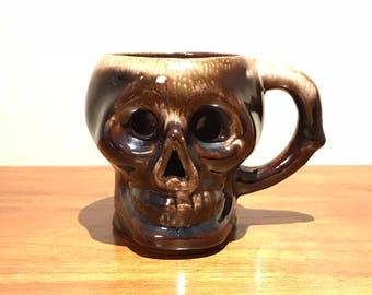 Vintage Retro Skull Coffee Mug