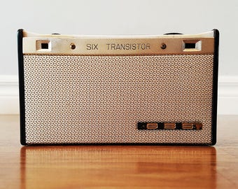 Rare GBS 6 Transistor Coat Pocket Radio, Made in Japan